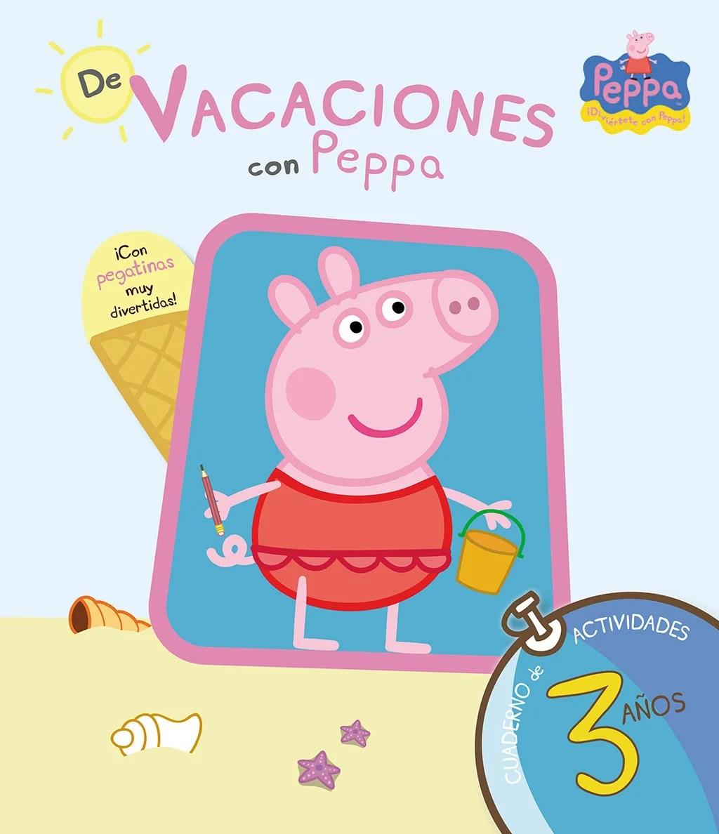Cuadernos de verano. De vacaciones con pepa.