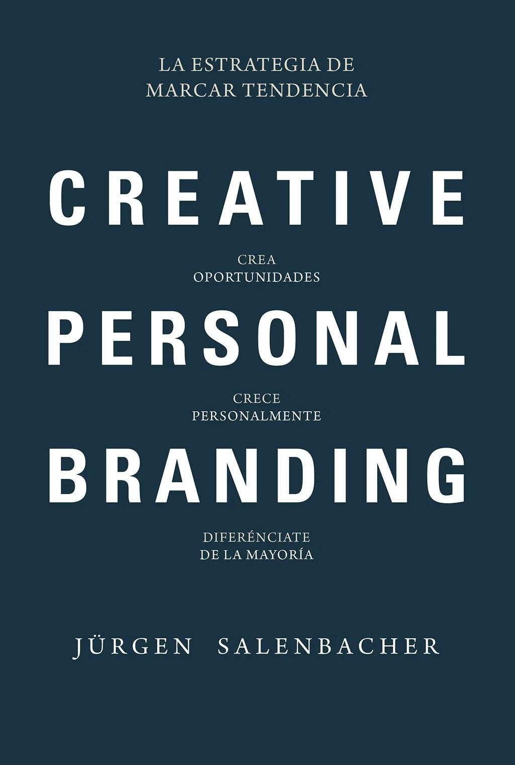 Libros de management. Creative personal branding.
