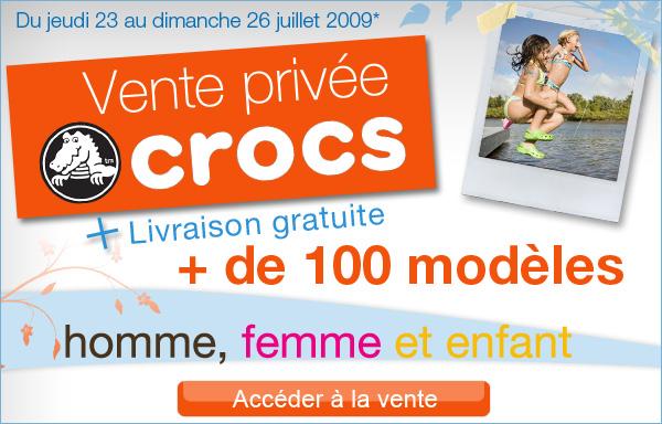 vente crocs