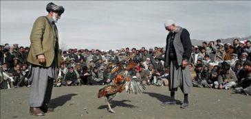 Con animales o con cometas: en Afganistán, se trata de luchar