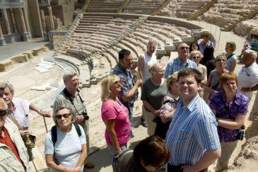 Más de la mitad de personas que han visitado el Teatro Romano de Cartagena en tres años son de Madrid