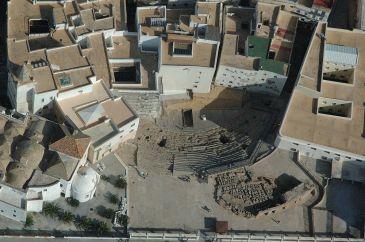 Sondeos arqueológicos sitúan la construcción del Teatro Romano a finales del siglo I antes de Cristo