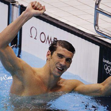 Londres 2012 natación: Phelps abandona la piscina convertido en leyenda