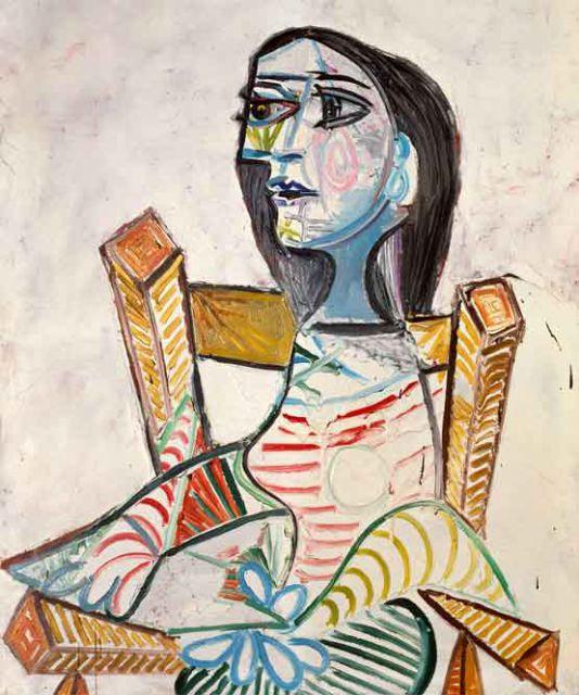 Resultado de imagen de picasso retrato de  mujer