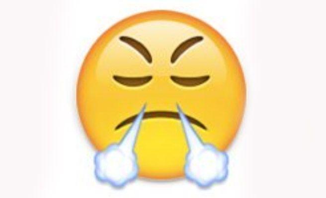 Resultado de imagen de emoticon enojado