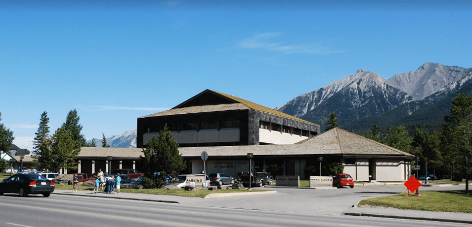 Canmore Provincial building for Alberta lawyers