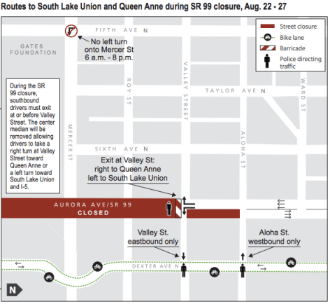 99 Closure QA map