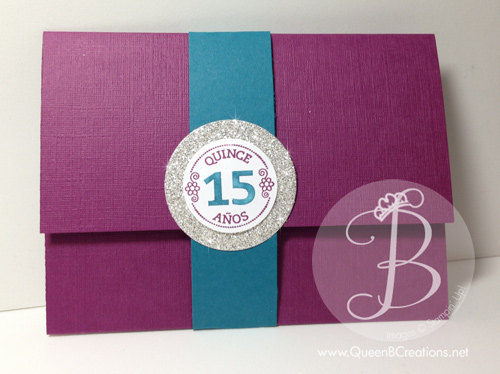 quinceanera invitation closed
