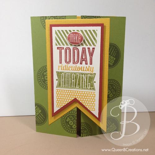 amazing birthday peekaboo card