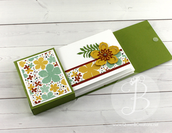 Stampin Up! Botanical Blooms Card Set by Queen B Creation