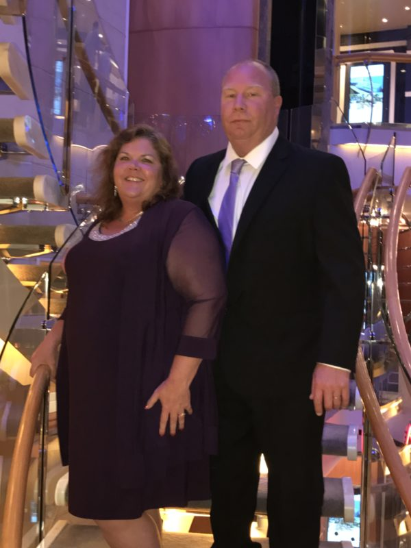 Lisa Ann Bernard of Queen B Creations with Hubby Marc