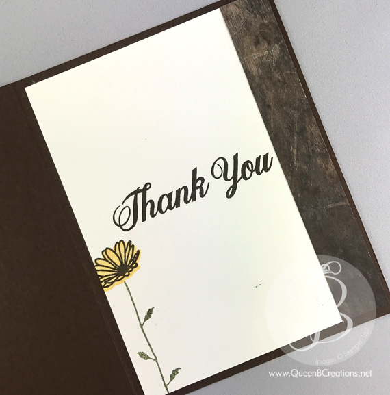 Stampin' Up! Daisy Delight Bundle Thank You card by Queen B Creations for Pals Blog Hop