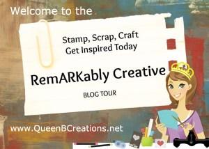 Remarkably Creative Blog Tour badge