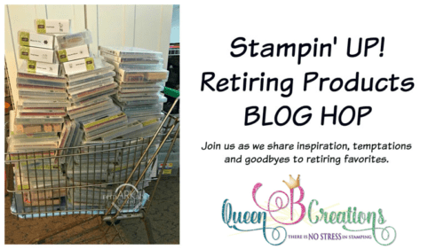 Stampin' Up! retiring products blog hop