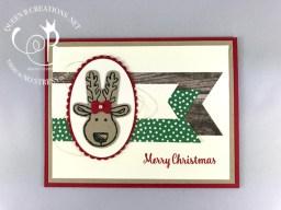 Cookie Cutter Christmas Reindeer