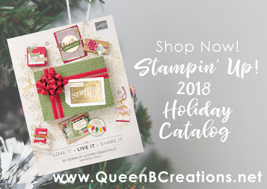shop now from the 2018 Stampin' Up! Holiday Catalog