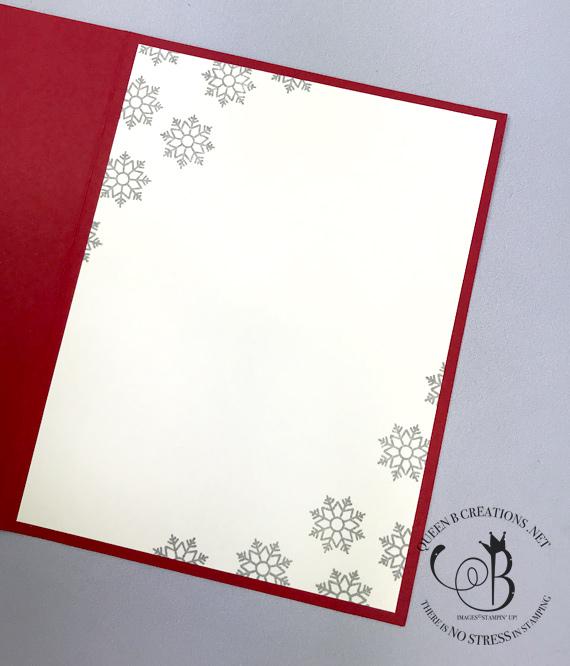 Stampin' Up! Alpine Adventures handmade Christmas card by Lisa Ann Bernard of Queen B Creations