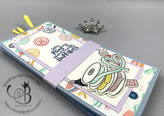 Stampin' Up! It Starts With Art coupon portfolio by Lisa Ann Bernard of Queen B Creations