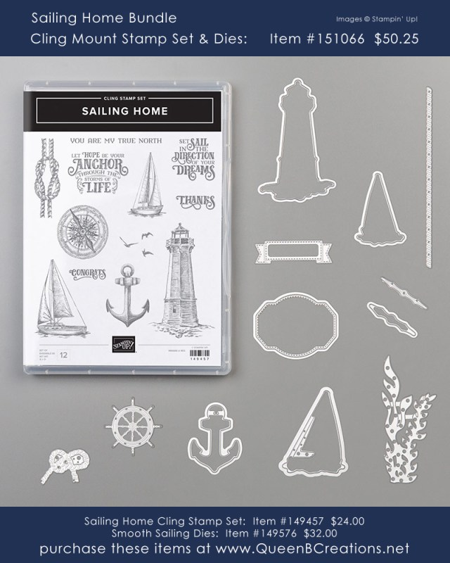 Stampin' Up! Sailing Home bundle