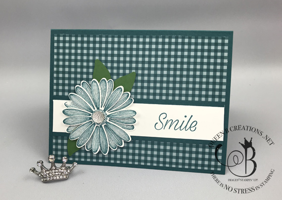 Stampin' Up! Daisy Lane 2019-2020 in-colors 2019-2020 Annual Catalog handmade card by Lisa Ann Bernard of Queen B Creations