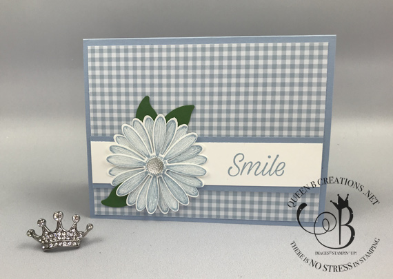 Stampin' Up! Daisy Lane 2019-2020 in-colors handmade card by Lisa Ann Bernard of Queen B Creations