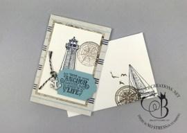 Sailing Home Notecards