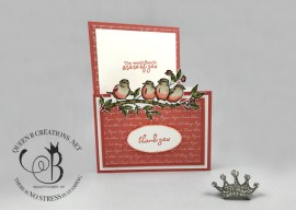 Free As A Bird Gift Card Holder Card