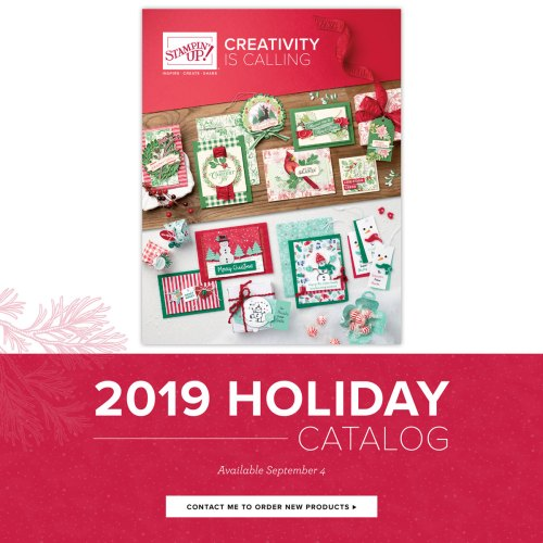 2019 Holiday Catalog from Stampin' Up!  order at www.QueenBCreations.net