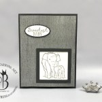 stampin up stamping your way to the top new team member card by Lisa Ann Bernard of Queen B Creations