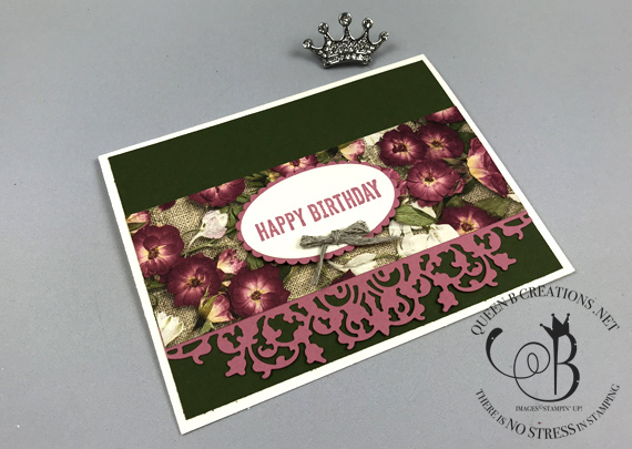 Stampin' Up! Perennial Essence 6x6 One Sheet Wonder birthday cards by Lisa Ann Bernard of Queen B Creations