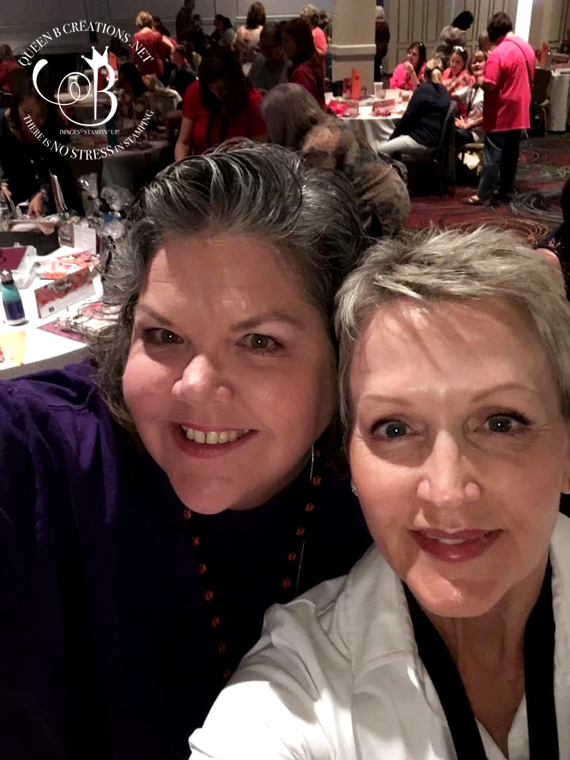 Stampin' Up! CentreStage and OnStage 2019 in Las Vegas with Lisa Ann Bernard of Queen B Creations