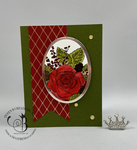Stampin' Up! Christmas Time is Here Medley handmade cards made by Lisa Ann Bernard of Queen B Creations