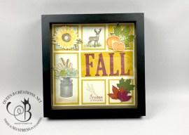 Fall Framed Sampler Home Decor