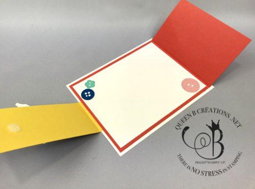 Stampin' Up! It Starts With Art fun fold handmade card by Lisa Ann Bernard of Queen B Creations