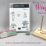 Queen B Creations March 2020 Pals Blog Hop Mystery Blog Candy Winner