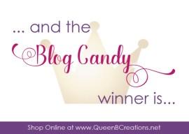 Blog Candy Winner!