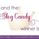 Queen B Creations Blog Hop Candy Winner from Lisa Ann Bernard, Independent Stampin
