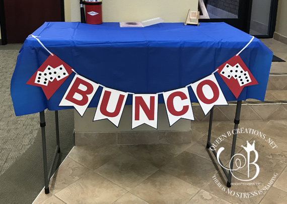 Stampin' Up! Stampin' Bunco October 2019 by Lisa Ann Bernard of Queen B Creations
