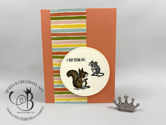 Stampin' Up! Stampin' Bunco February 2020 by Lisa Ann Bernard of Queen B Creations