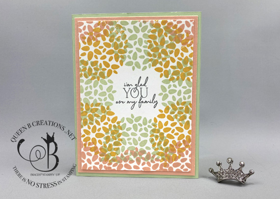 Stampin' Up! My Wonderful Family Paper Pumpkin May 2020 Alternatives by Lisa Ann Bernard of Queen B Creations