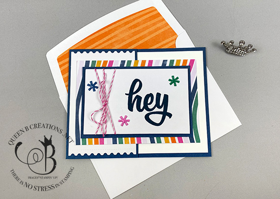 Stampin' Up! Paper Pumpkin May 2020 A Kit In Color Alternatives by Lisa Ann Bernard of Queen B Creations