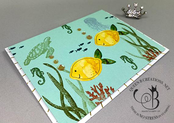 Stampin' Up! June 2020 Box of Sunshine Paper Pumpkin alternatives by Lisa Ann Bernard of Queen B Creations