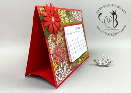 Ornate Garden Daisy Mini Calendar