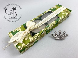 Poinsettia Place DSP Tealight Box