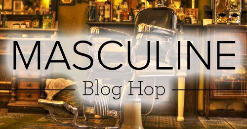 masculine blog hop badge