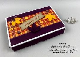Mini Paper Pumpkin Box Treats