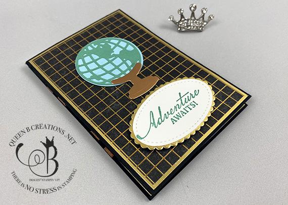 Stampin' Up! Beautiful World of Good Magic Wallet Card by Lisa Ann Bernard of Queen B Creations