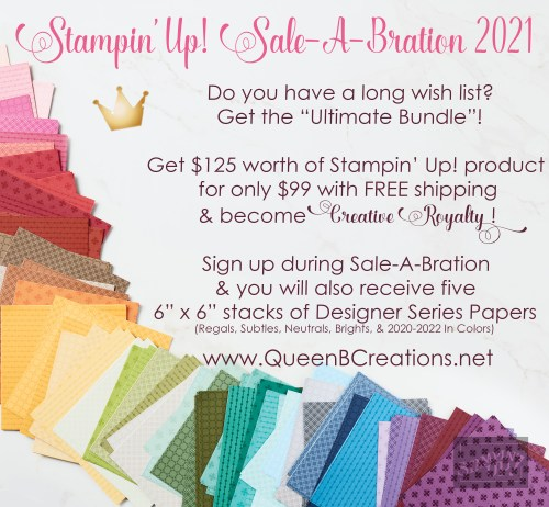 2021 Stampin' Up! Sale-A-Bration Promotion for new starter kits