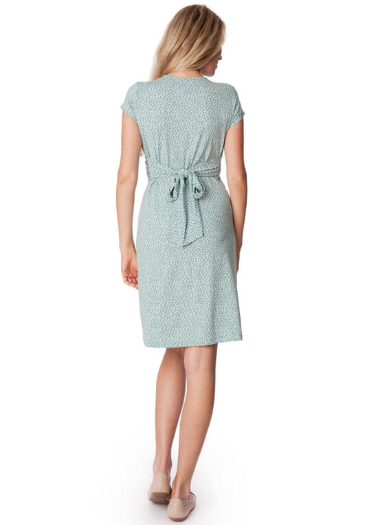 Sage Green Dress Maternity