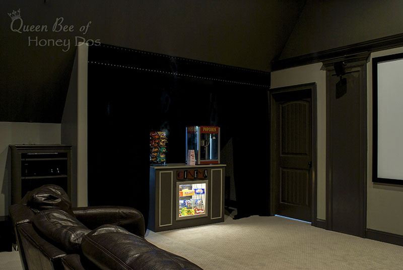 Home Theater Reveal Queen Bee of Honey Dos